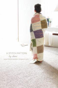 the stitch pattern: Blocks of Spring