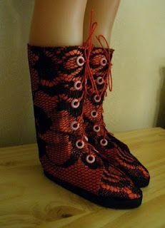 Мода Куклы Обувь