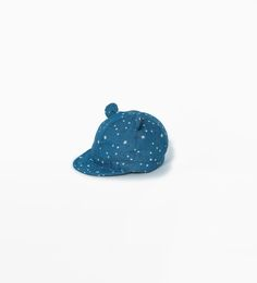 Star print hat with ears-View All-Accessories-Baby boy (3 months - 3 years)-KIDS   ZARA United States