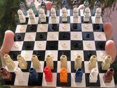 LEGO Star Wars Travel Chess DIY
