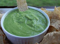 Copycat El Pollo Loco Avocado Salsa. This easy salsa recipe is so darn good!