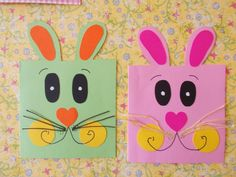 Easy puzzle crafts for kids – Crafts and Worksheets for Preschool,Toddler and Kindergarten Toddler Church Crafts, Painting Crafts For Kids, Easter Craft Activities, Easter Crafts For Toddlers, Easy Easter Crafts, Easter Art, Easter Crafts For Kids, Rabbit Crafts, Bunny Crafts
