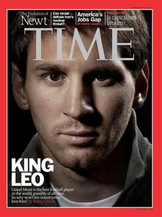 Time pone a Messi en su tapa y se pregunta por qué no lo aman en la Argentina - Fútbol Internacional - canchallena.com