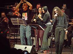 En pleno concierto