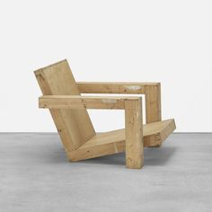 Workshop of Gerrit Rietveld Easy Chair, with drawing : Lot 278