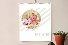 A Little Chic Grand Calendars by Jessica Williams at minted.com