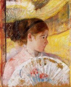 'At the Theater' Mary Cassatt