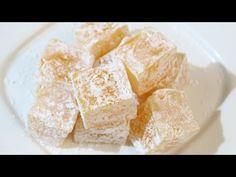 La recette facile des Loukoums au citron - La Recette