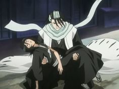 Kuchiki Byakuya and Rukia Bleach Rukia, Bleach Anime, Bleach Tie Dye, Bleach Art, Kubo Tite, Departed Soul, Bleach Funny, Anime Siblings, Kuchiki Rukia