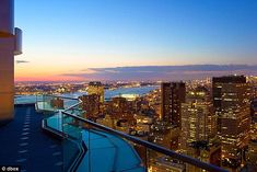 Breathtaking: The highest residential building in the world designed by Frank Gehry.  Tallest penthouse apartment too.  Amazing pictures.