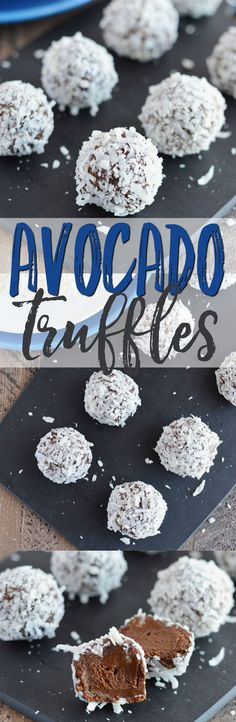 Avocado Truffles from What The Fork Food Blog | whattheforkfoodblog.com