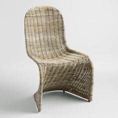 Kubu Rattan Maleya Molded Chair - v1