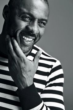 The Wire and Luther Actor Idris Elba on Pacific Rim and His D. Black Is Beautiful, Gorgeous Men, Beautiful People, Beautiful Smile, Most Beautiful Man, Actor Idris, Raining Men, British Actors, Corporate Headshots