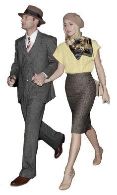Bonnie and Clyde - excellent cutout