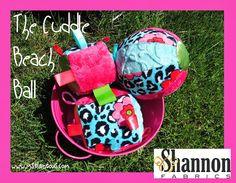 Ms. Elaineous Teaches Sewing: Cuddle Beach Ball!