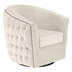 Winslow Swivel Chair from Z Gallerie
