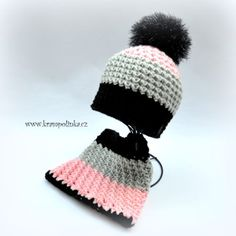 Kulíšek véčkový Tulip Big · Návody háčkování Krampolinka Free Crochet, Crochet Hats, Crochet Patterns, Winter Hats, Big, Tulip, Knitting Hats, Crochet Granny, Shawl Patterns