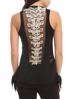 Send shivers down your spine with this killer top from Teenage Runaway.