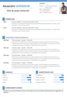 CV communication gratuit
