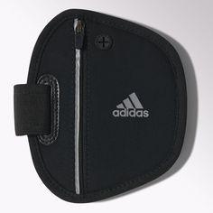 adidas - Brazalete con bolsillo Run