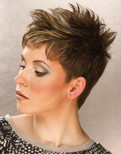 ... Textured hairstyles, Short hairstyles and Short hairstyles for women