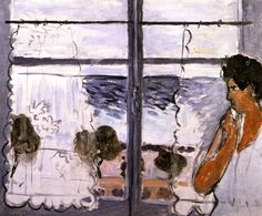 Woman at the Window / Henri Matisse - 1920