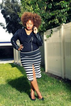 The CUrvy Fashionista- Marie Denee's Personal Style- In ASOS and Vince Camuto