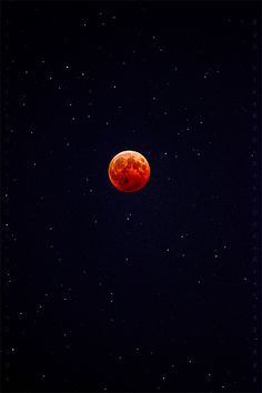 Blood Moon Eclipse ~ Oct 8 2014 (USA) by Matt Anderson ~ This was absolutely amazing to watch! cww