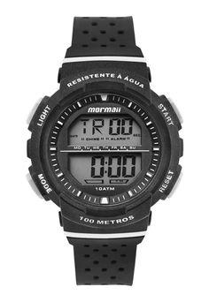 b74ce9b159d80 Relógio Mormaii Digital Fun MO36508P Preto