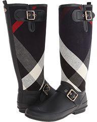 Burberry Birkback Women' Pull-on Boot #RainBoots #KneeHighBoots #Burberry #Boots