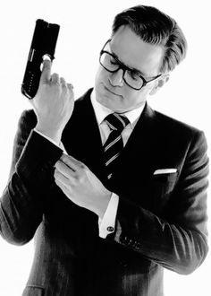 Coin Firth for Kingsman: The Secret Service