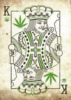 King of Cannabis Weed Wallpaper, Marijuana Art, Cannabis Oil, Medical Marijuana, Stoner Art, Weed Art, Weed Humor, Funny Posters, Art Drawings