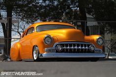 51 Chevy. Nice change of pace from the rat look.