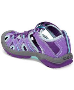 Merrell Girls' Hydro Hiker Sandals - Purple 6W