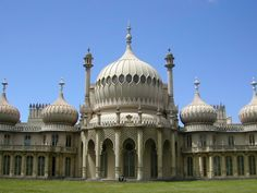 Brighton Royal Pavilion, built 1787 as a seaside retreat for the Prince of Wales, later King George IV