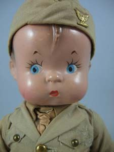 Collectibles ~ SKIPPY®, made under license to Effanbee Doll Co., 1929, used on U.S. Postal Service stamp, 1997