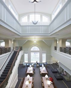 The College Of New Jersey Library Architecture Interior Design Engineering