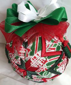 Christmas Morning Quilted Christmas Ornament by ncgalcreations, $15.00