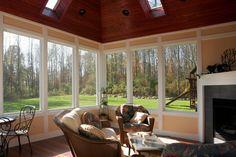 all season porch... I want a porch!