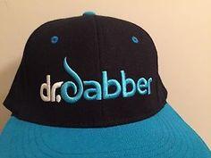 ☀NEW☀Dr. Dabber Black & Blue☀PREMIUM VAPE Hat Cap Boost  | eBay