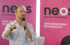 Auch NEOS im Wahlkampf auf Österreich-Tour  -  auf kleinezeitung.at