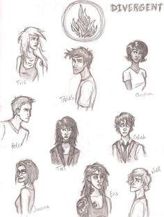 Divergent characters, divergent fan art и divergent trilogy. Divergent Drawings, Divergent Characters, Divergent Fan Art, Divergent Hunger Games, Divergent Trilogy, Divergent Insurgent Allegiant, Divergent Fandom, Fictional Characters, Fanart