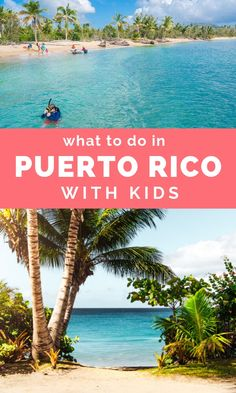 Puerto Rico with Kids can be so much fun! With beaches jungle zip lining snorkeling and history it's a paradise for family travel! Places To Travel, Travel Destinations, Places To Go, Vacation Places, Cruise Vacation, Disney Cruise, Travel Guides, Travel Tips, Budget Travel