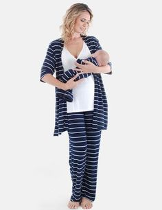 671569b202 Matching Mom   Baby. Maternity Lounge WearMaternity SleepwearMaternity  GownsMaternity ClothingMaternity FashionNursing ...