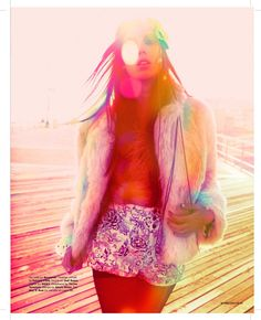 ACID WASH for MISSBEHAVE MAGAZINE Photos by Brooke Nipar, Styling by Radio Rose Garcia