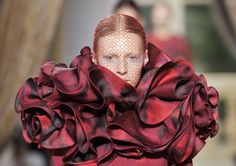 Beauty trend as appeared in Giamattista Valli Haute Couture