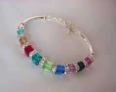 navy swarovski bracelet - Google Search