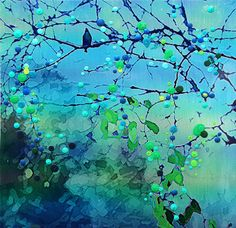 Bluebird  Morning Song  The promise of new by EnergyArtistJulia, $48.00