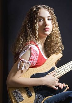 Tal Wilkenfeld. Search her out - a phenom bass player. Has worked with Jeff Beck and many others