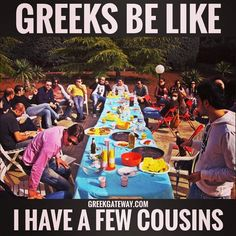Cousins here, cousins there, Greek cousins everywhere!
